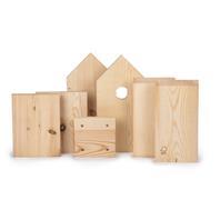 Bausatz Meisennistkasten Einzelteile