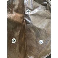 Frostschutzsack mit metallverstärkten Drainagelöcher im Boden