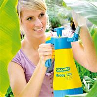 Gloria Drucksprühgerät Hobby 125 Flex Anwendung Blattunterseite