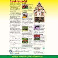 Neudorff Insektenhotel Verpackung Rückseite