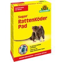 Neudorff Sugan Rattenköder Pad