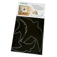 Schwegler Greifvogelsilhouetten schwarz