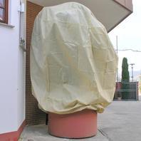 Winterschutzhaube mit Reißverschluß XL
