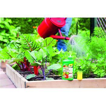 Anwendung Neudorff Biokraft Vitalkur für Obst+ Gemüse