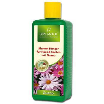Bioplant Biplantol Blumendünger Guano