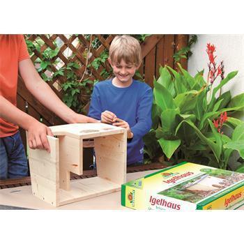 Neudorff Igelhaus zum selberbauen mit Kinder