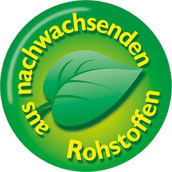 Logo aus nachwachsenden Rohstoffen
