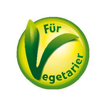 Logo für Vegetarier