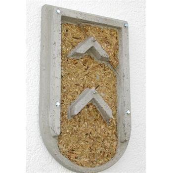 Schwegler Fledermaus-Fassadenquartier 1FQ offen