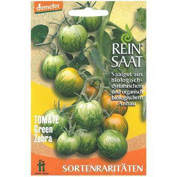 Reinsaat Tomate Green Zebra