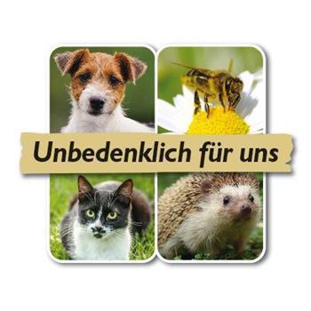 Logo unbedenklich für Haustiere