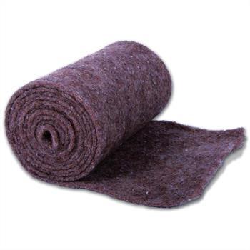Wickelstreifen aus Schafwolle braun