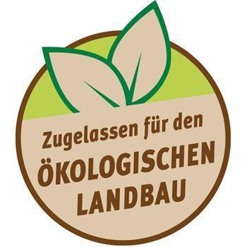 Produkt zugelassen für den ökologischen Landbau