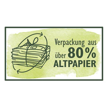 Logo Altpapier 80 %