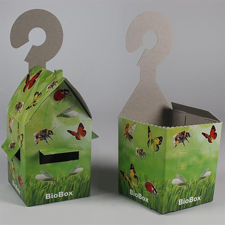 Nützlinge mit der BioBox direkt an der Pflanze ausbringen