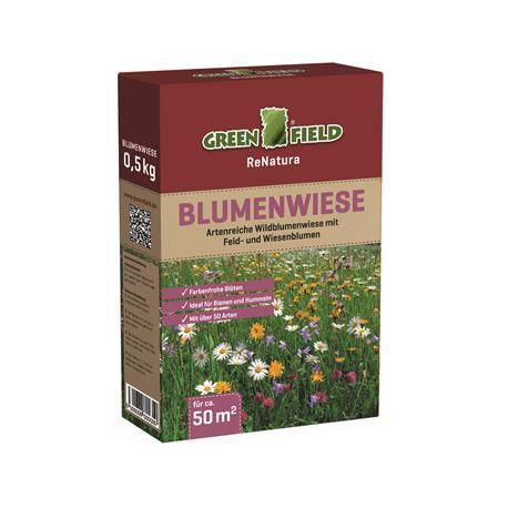 Greenfield Blumenwiese Feld- und Wisenblumen