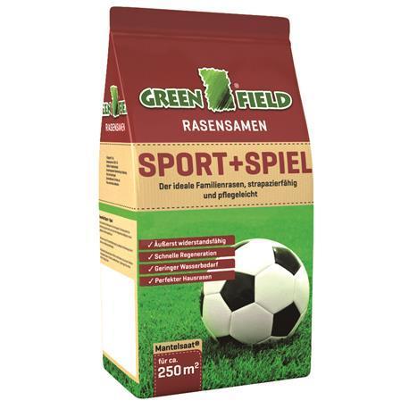 Greenfield Rasensamen Sport+Spielrasen 5kg
