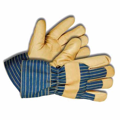 Kixx Winterhandschuh aus Leder und Baumwolle
