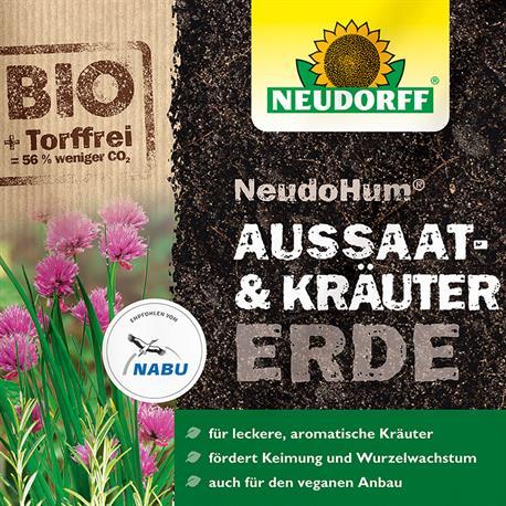 Aussaaterde-Kräutererde Neudorff