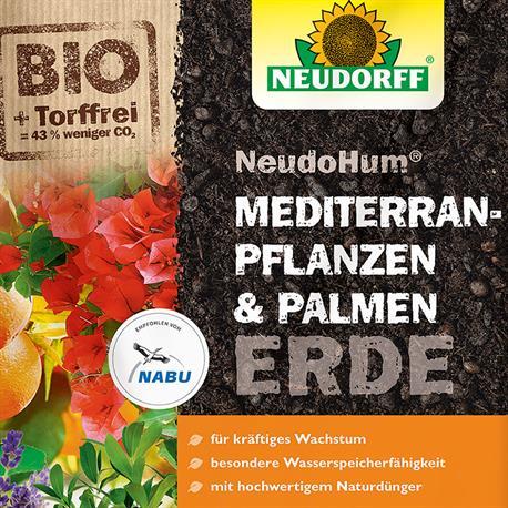 Mediterranerde Palmenerde Neudorff