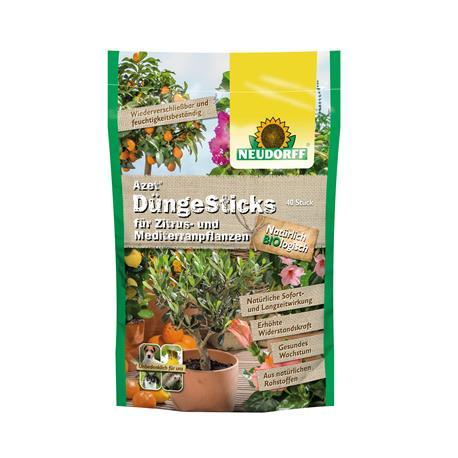 Azet DüngeSticks für Zitrus- & Mediterranpflanzen