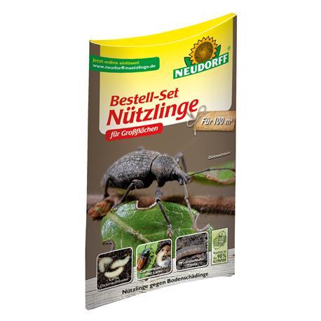Neudorff Bestell-Set Nützlinge gegen Bodenschädlinge Großfläche