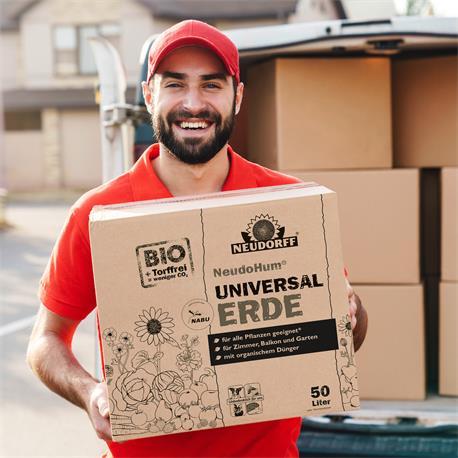 Neudorff Neudohum BIO Universal-Erde 50 Liter Auslieferung mit Paketdienst