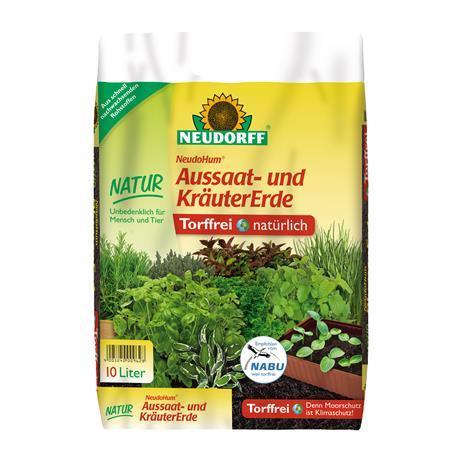 Neudorff NeudoHum Ausaat-&Kräutererde 10l