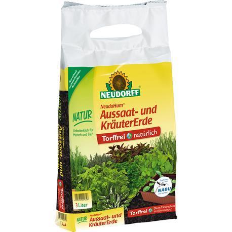 Neudorff NeudoHum Aussaat&Kräutererde 3l