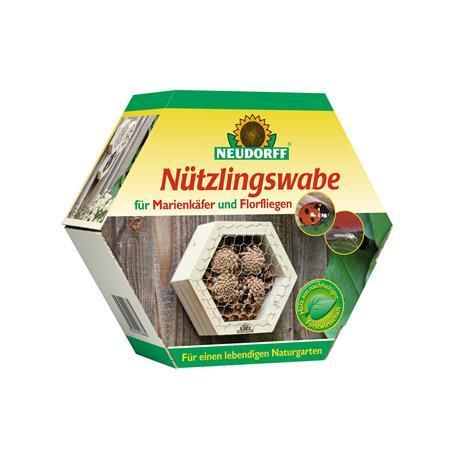 Neudorff Nützlingswabe für Marienkäfer und Florfliegen