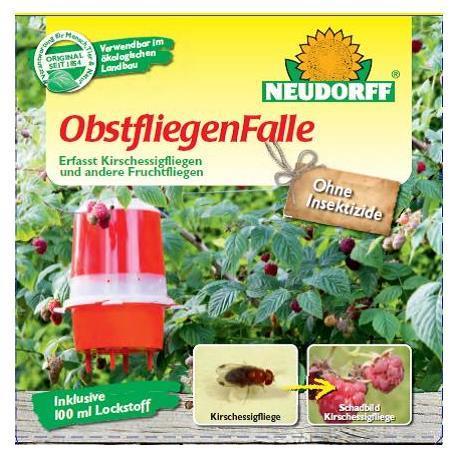 Neudorff Obstfliegenfalle Kirschessigfliege