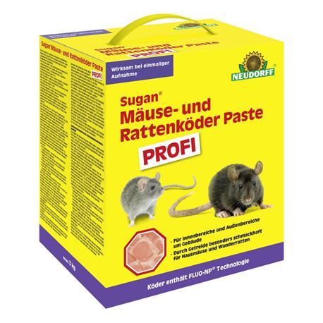 Sugan Mäuse- und Rattenköder Paste Profi