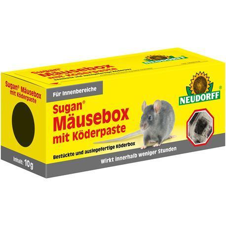 Neudorff Sugan Mäusebox mit Köderpaste