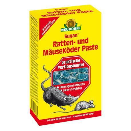 Neudorff Sugan Ratten und Mäusek.- Paste 200g