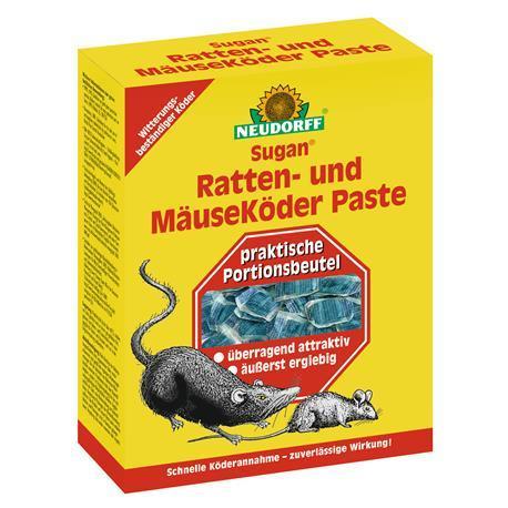 Neudorff Sugan Ratten und Mäuseköder Paste