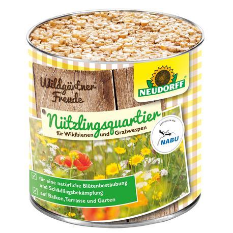Neudorff Wildgärtner Freude Nützlingsquartier für Wildbienen