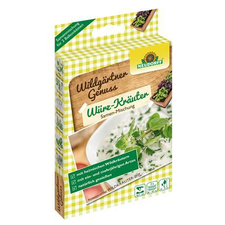 Neudorff WildgärtnerGenuss Würz-Kräuter