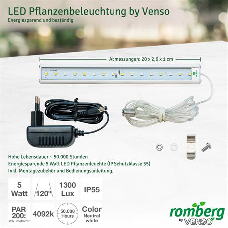 Romberg Maximus Complete LED Details Beleuchtung