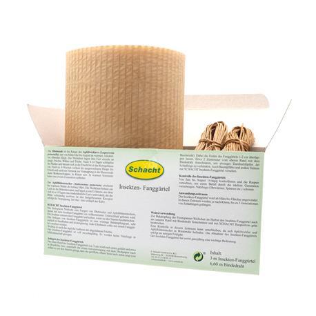 Schacht Insekten Fanggürtel Bestandteile