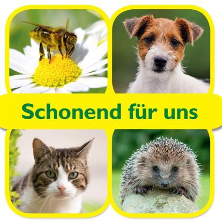 Schneckenkorn Ferramol compact schont Hunde und Igel