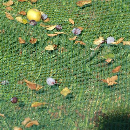 Windhager Laubschutz-Netz für den Teich 5x4m ausgepackt
