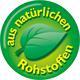 Logo aus natürlichen Rohstoffen