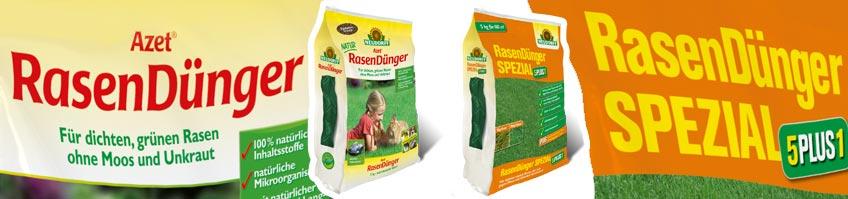Unterschied Azet Rasendünger & Spezial 5Plus1 kaufen