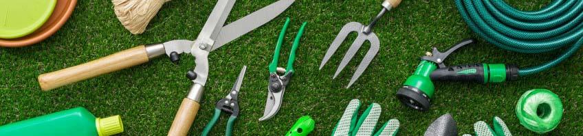 Gartengeräte kaufen