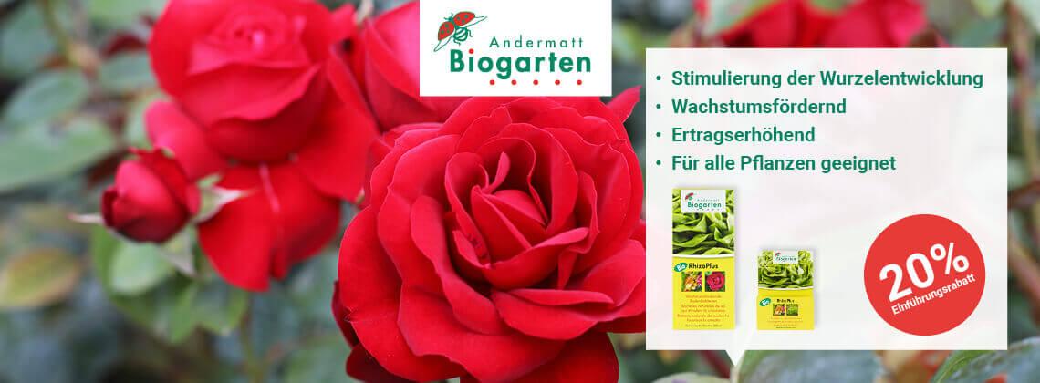 Andermatt Biogarten RhizoPlus Angebot