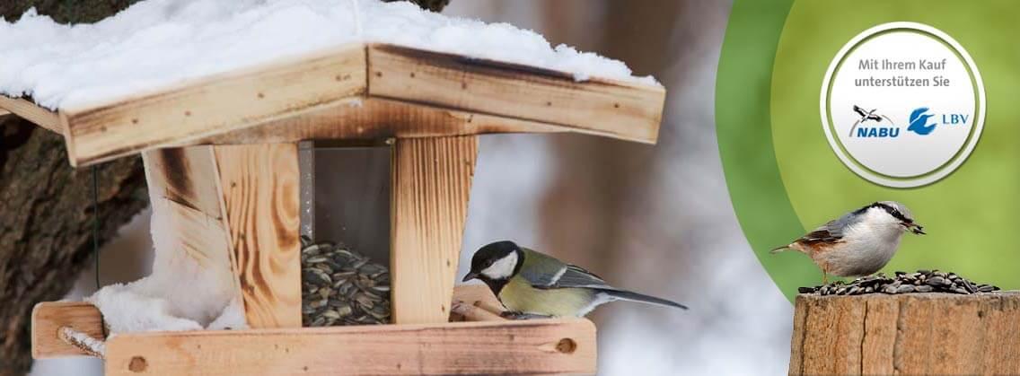 Vogel-Winterfütterung